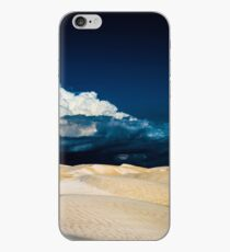 Storm Clouds Over the Desert iPhone Case