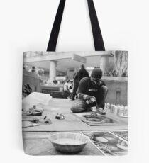 Street of Unconventional Art Tote Bag