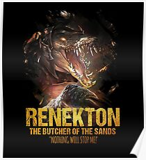 League of Legends RENEKTON - The Butcher Of The Sands Poster