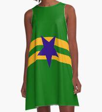 Browncoat (Independents) Flag - Inverted Star A-Line Dress