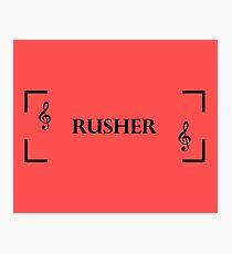 Rusher Photographic Print