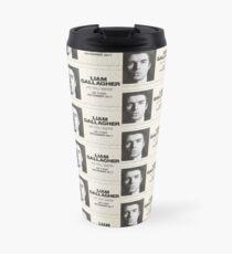 Liam Gallagher Uk Tour Travel Mug