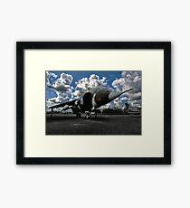 german aircraft, harrier jagdbomber Framed Print