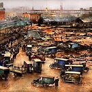 City - Boston Ma - The Great Molasses Flood 1919  by Michael Savad