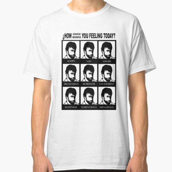 How Chuck Norris you feeling? Classic T-Shirt