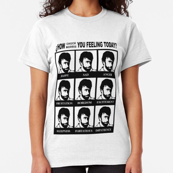 How Chuck Norris you feeling? Classic T-Shirt