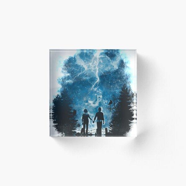 the storm of life 2 Acrylic Block