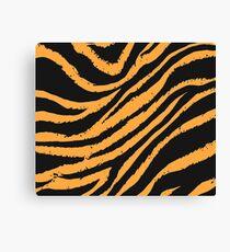Tiger Stripe Canvas Print