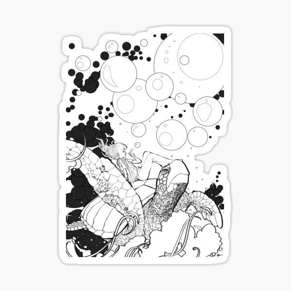 Bubble Princess Sticker