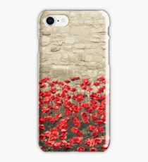 Tower Poppies 02A iPhone Case/Skin