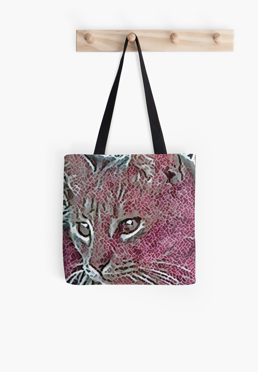 Watchful Cat in Mosaic by Dorothy Berry-Lound