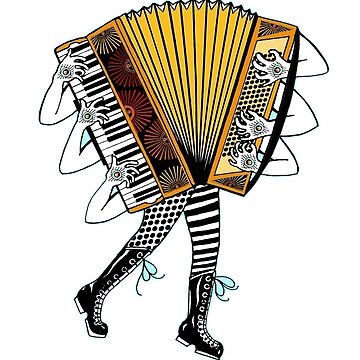 Accordion Avatar by juliethebruce