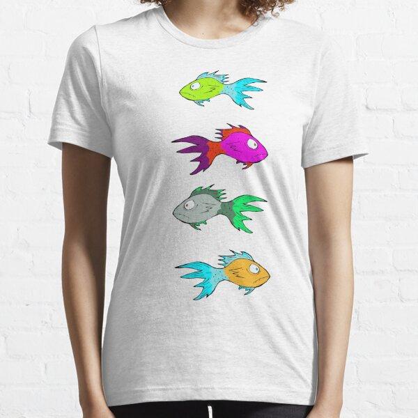Neon Fish Essential T-Shirt