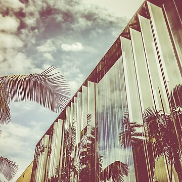 Beverly Hills - Palm Reflections III by vanroy