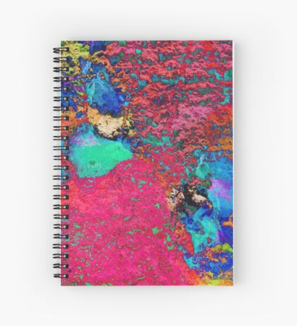 Paw Prints Colour Explosion Spiral Notebook