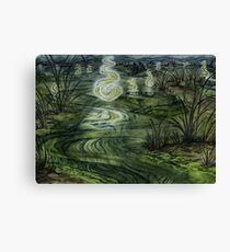 The Dead Marshes Canvas Print