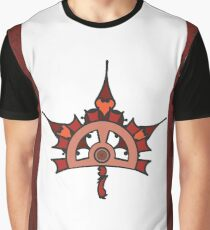 Steampunk / Victorian Canadian Flag Graphic T-Shirt
