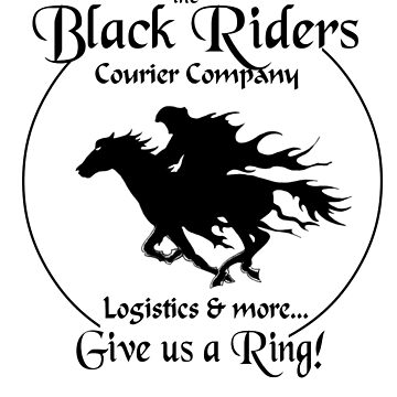 Black Riders Courier Company by wu-wei