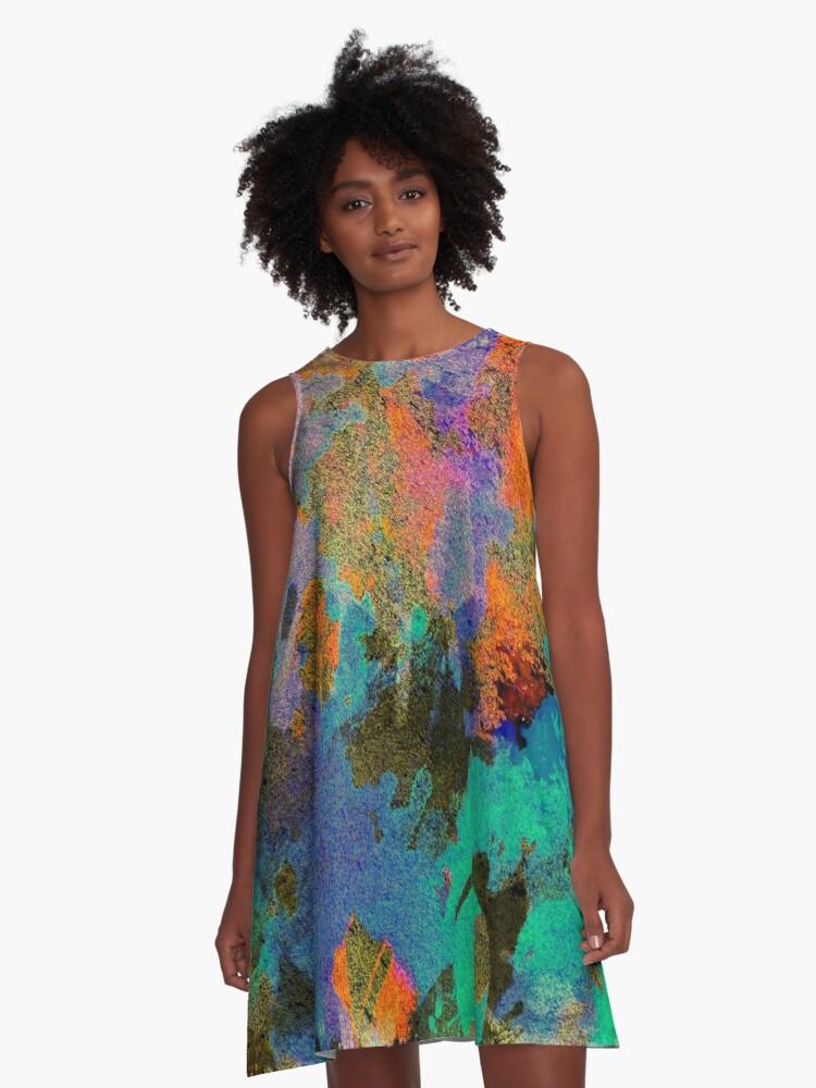 Colour Trifle A-Line Dress Front