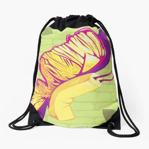 Butterfly - Right Facing Drawstring Bag