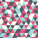 Retro triangle pattern by ajo-rb