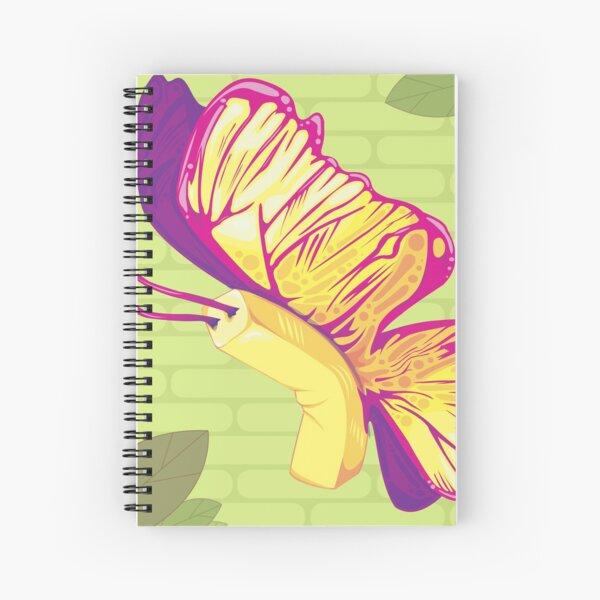 Butterfly - Left Facing Spiral Notebook