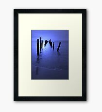 'Moon Rise' Framed Print