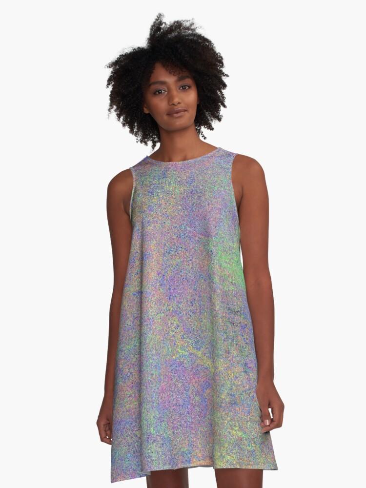Colour Medley A-Line Dress Front