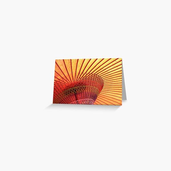 kyo-wagasa Greeting Card