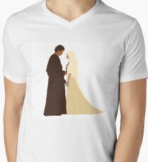 Anakin and Padme Men's V-Neck T-Shirt