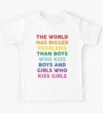 The World Has Bigger Problems  Kids T-Shirt