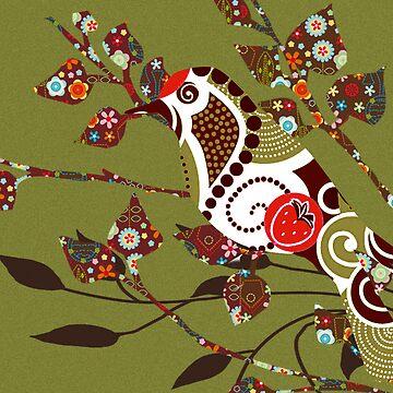 Strawberry Bird by lilypang