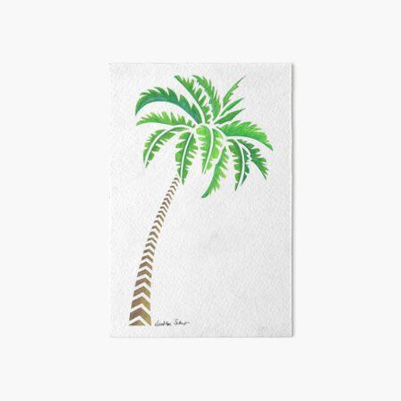 Tribal Coconut Palm Tree Art Board Print