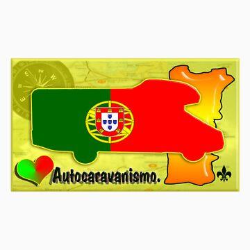 Autocaravana com Bandeira Portuguesa. by JotaEme