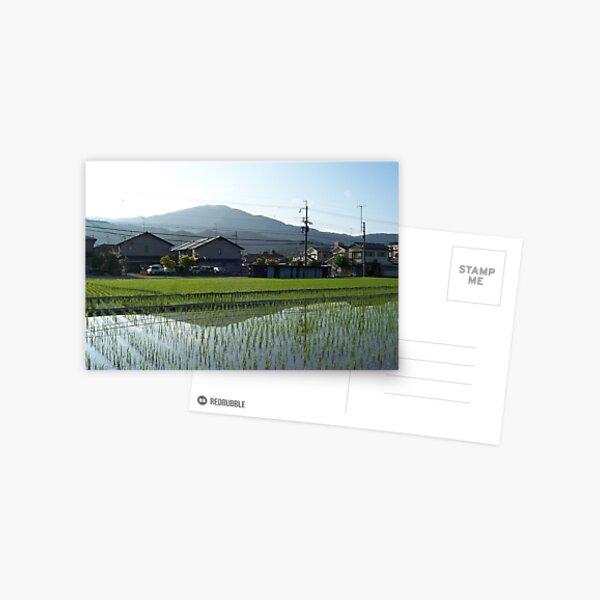 spring in iwakura Postcard