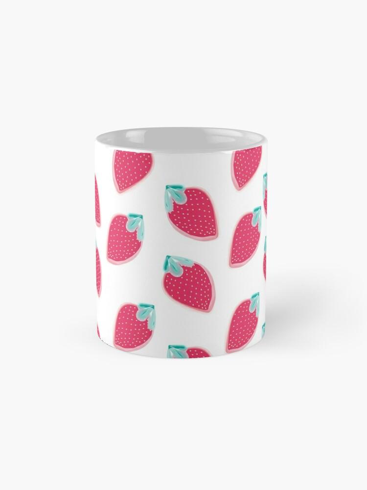Alternate view of Cute Strawberry Fruit Pattern Mug
