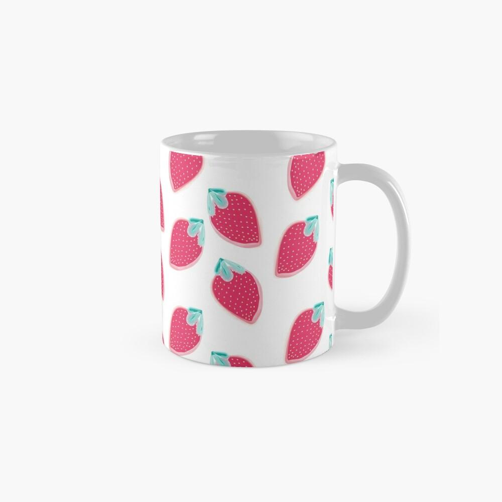 Cute Strawberry Fruit Pattern Mug