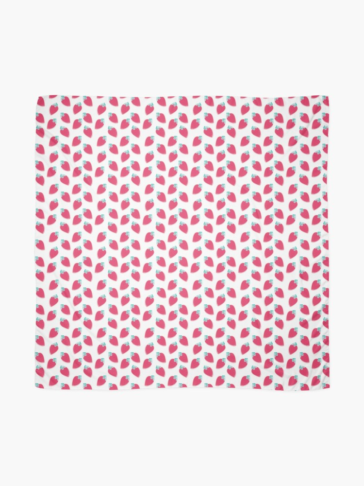 Alternate view of Cute Strawberry Fruit Pattern Scarf