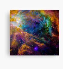 Space Nebula Canvas Print