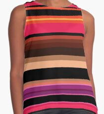 Colorful  womens contrast tanks Contrast Tank