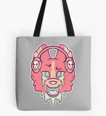 Candy Gore Music Wolf Tote Bag