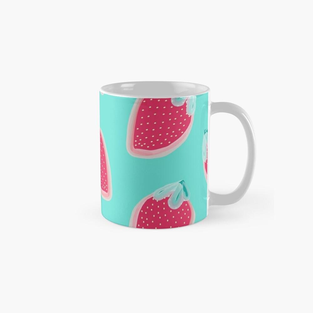 Strawberries Fruit Pattern Mug
