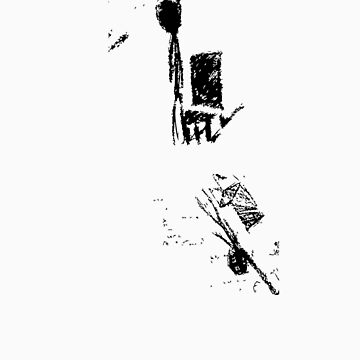 Hang Man Black by jimmyjimjames