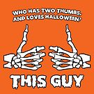 Who Loves Halloween? This guy! by Daniel Lucas
