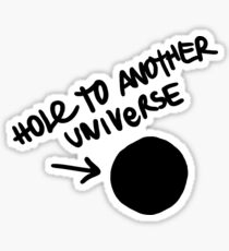 Hole to another universe - Life is strange - Before the storm Sticker