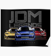 JDM Legends Poster