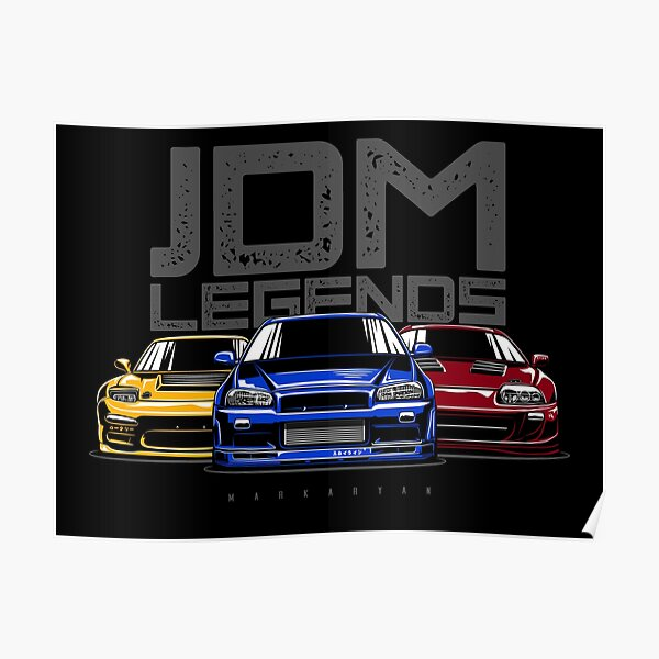 JDM Legends Poster