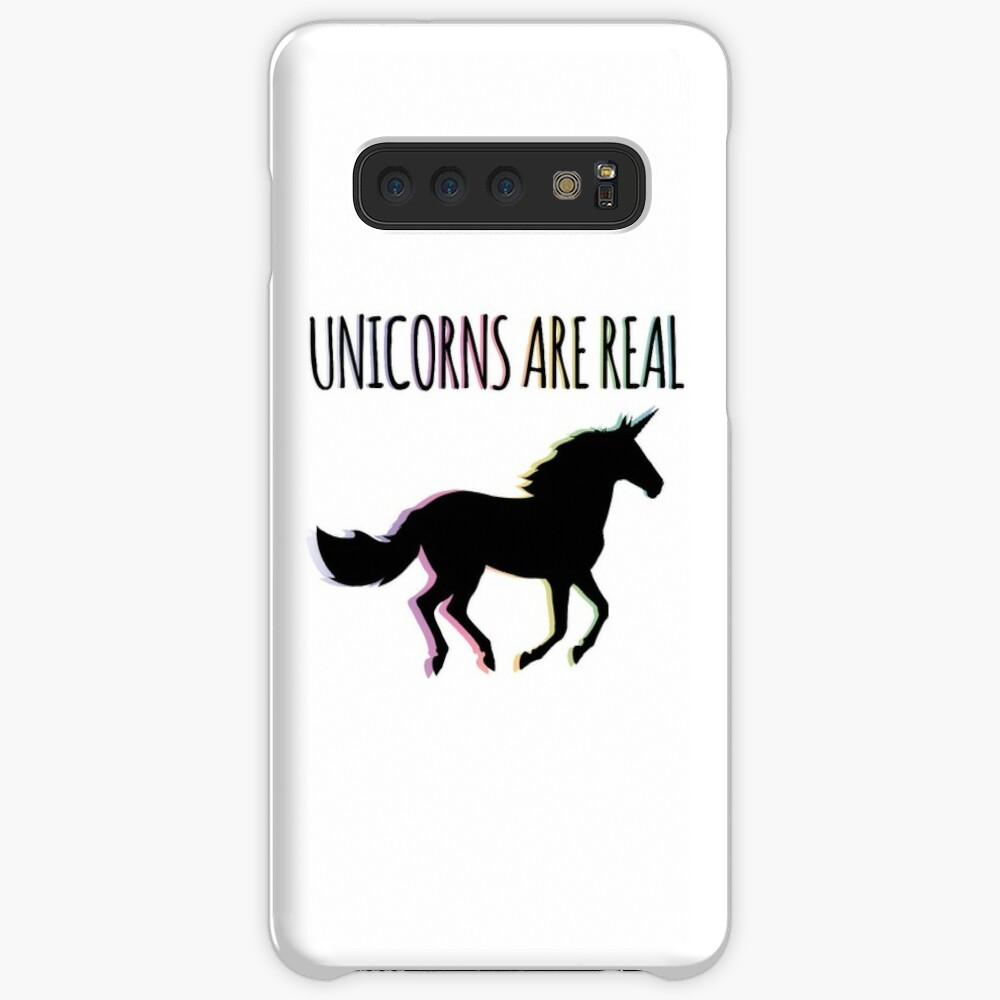 Unicorns are Real Rainbow Version Case & Skin for Samsung Galaxy