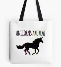 Unicorns are Real Rainbow Version Tote Bag