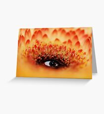 Mother Nature Is Watching Us Greeting Card